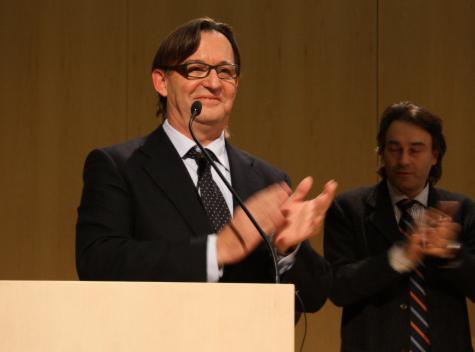 El president de l'Associació de Municipis per la Independència, Josep M. Vila d'Abadal