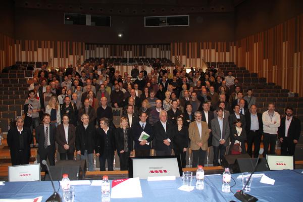 Assemblea general de l'AMI a Vilanova i la Geltrú