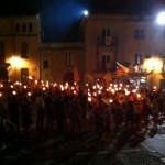 Marxa de torxes a Castelló d'Empúries (Alt Empordà)