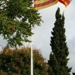 Hissada de la senyera a Capellades (Anoia)