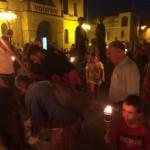 Encesa de torxes a Vilassar de Dalt (Maresme)