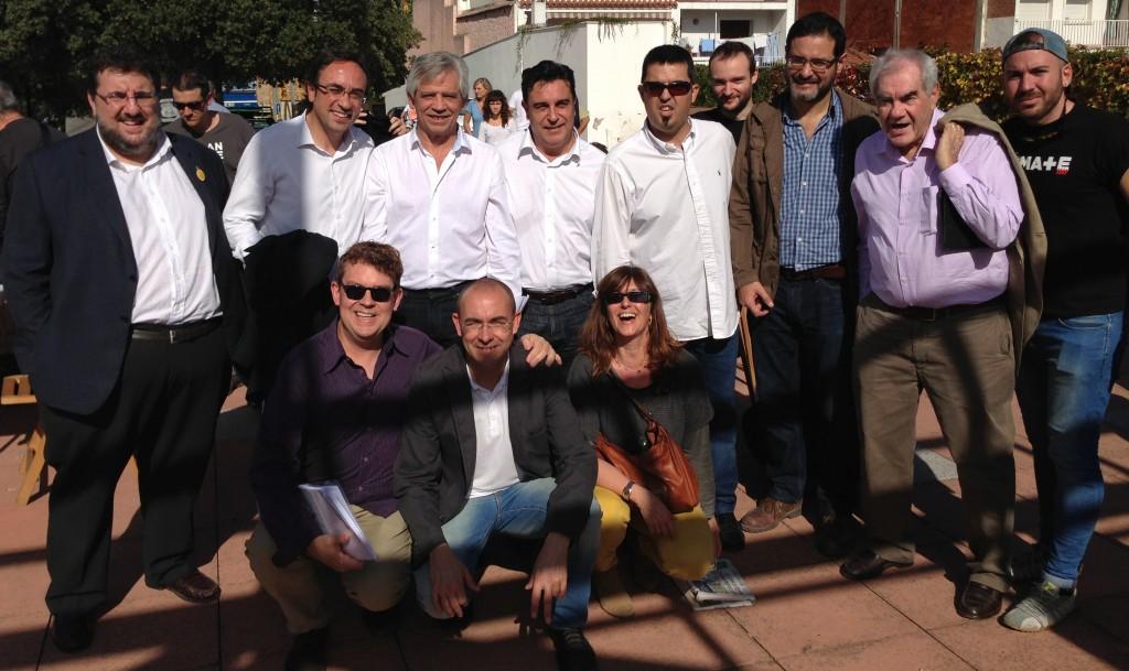 Primer aniversari de l'associació Súmate a Cervelló