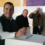 Francesc Garcia, alcalde de Montgat