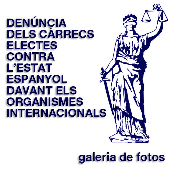 Denúncia internacional de càrrecs electes