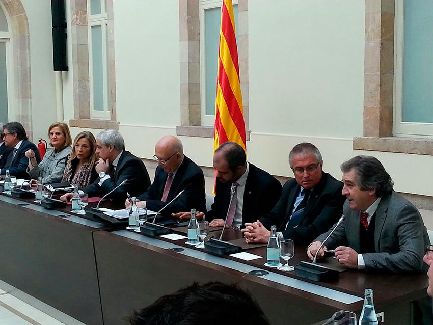 Sisena reunió del Pacte Nacional pel Dret a Decidir