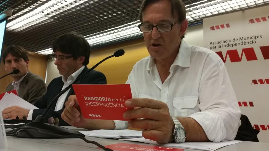 Josep Maria Vila d'Abadal, president de l'AMI