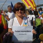 Isabel Maria Cortada, alcaldessa de Palau-saverdera