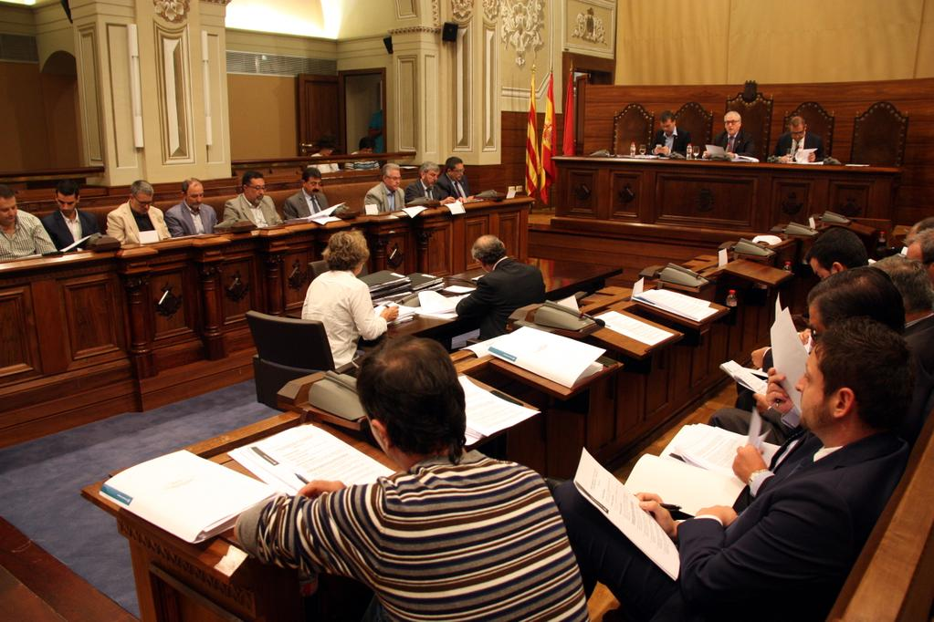 Ple de la Diputació de Tarragona