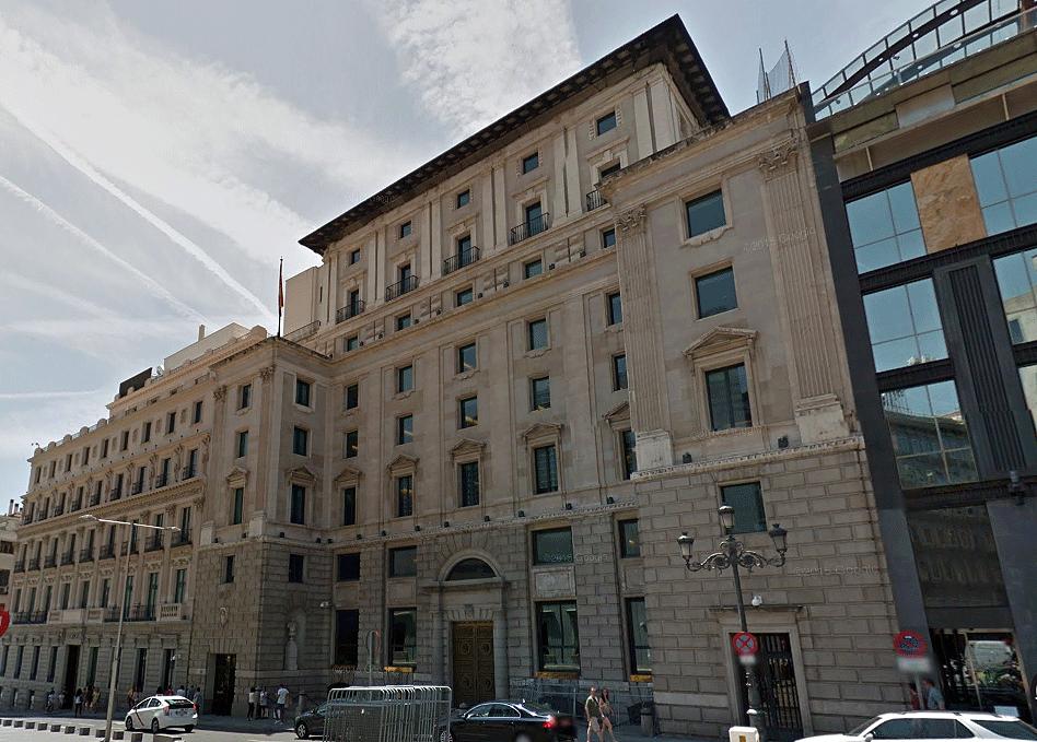 Seu de la Junta Electoral Central a Madrid
