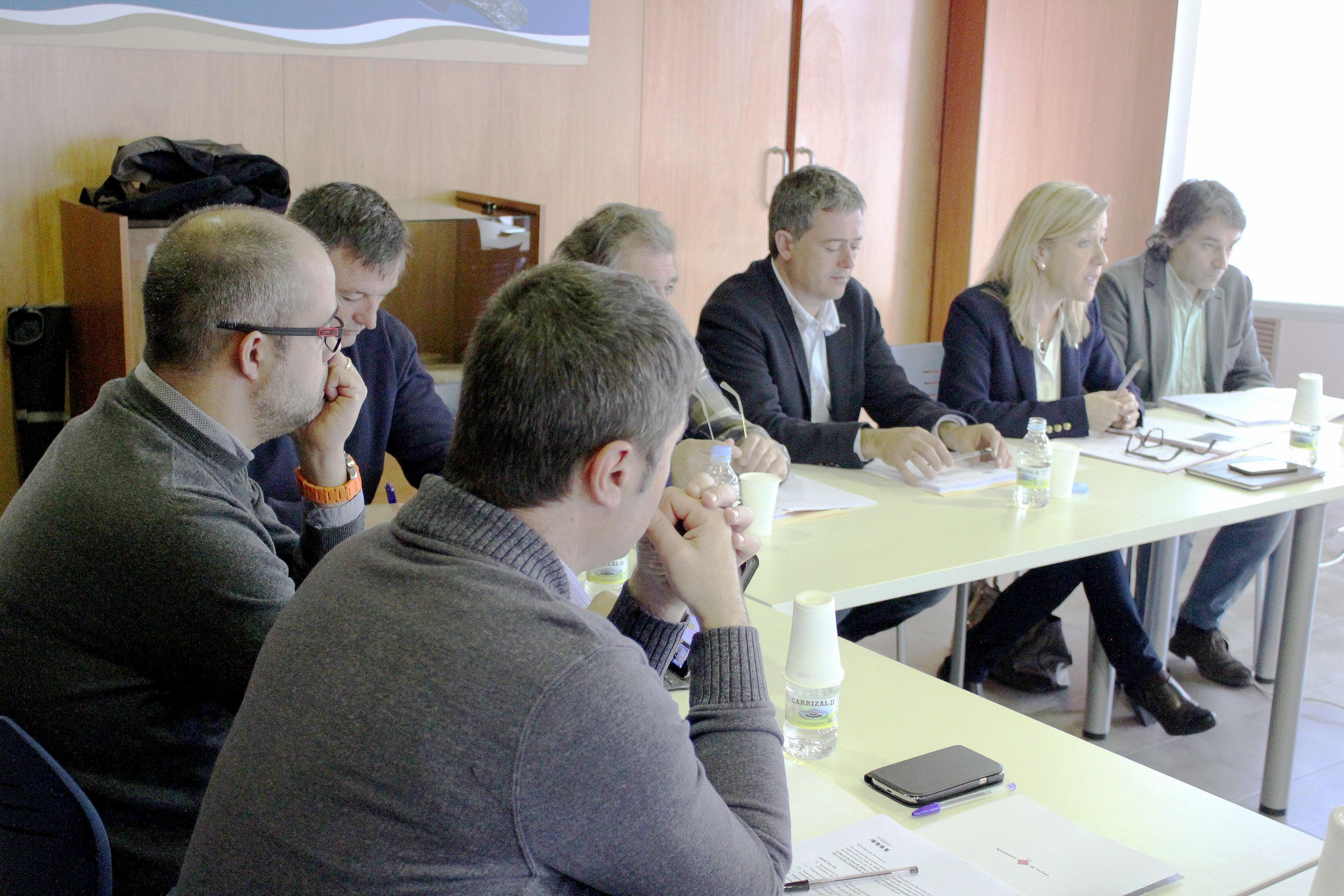 Comissió Executiva de l'AMI, a l'Ametlla de Mar