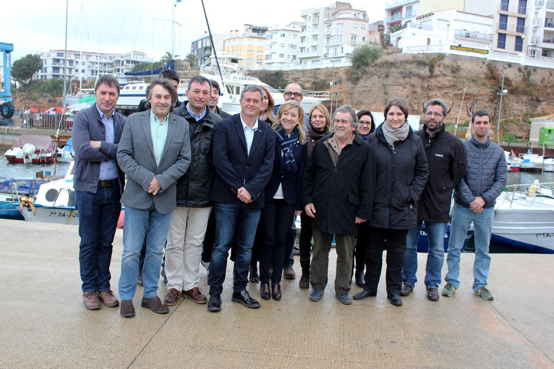 Alcaldes i alcaldesses de l'AMI a l'Ametlla de Mar