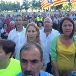 Concentració Girona-  País Lliure de corrupció d'Estat