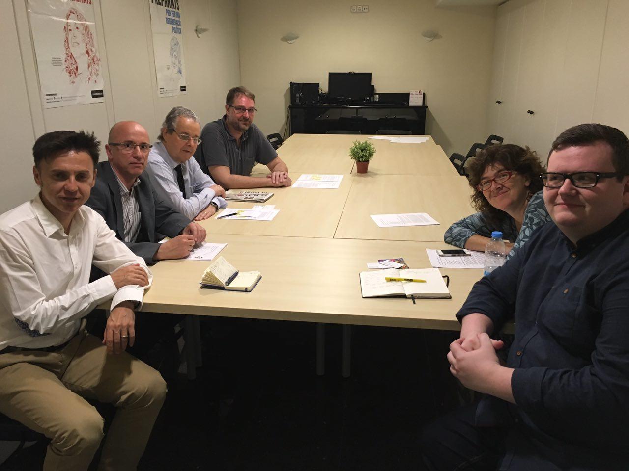 Reunió AMI amb David McDonald, regidor Glasgow