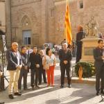Ferran Estruch, alcalde de Cardona (acte al municipi)