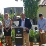 Jaume Oliveras, alcalde del Masnou (acte al municipi)