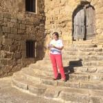 Montse Fornells, alcaldessa de Vilanova de l'Aguda (acte al municipi)