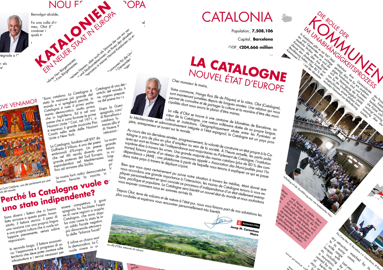 La Catalogne, nouvel état d'Europe