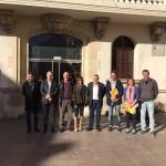 Vilafranca del Penedes. Lectura manifest