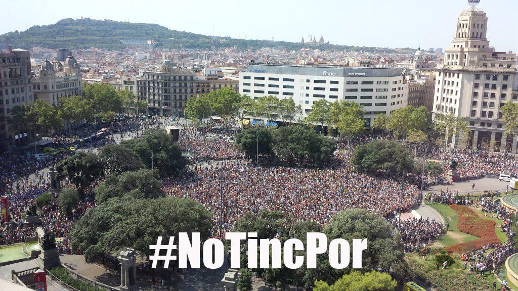 manifestaciobarna #notincpor lletra