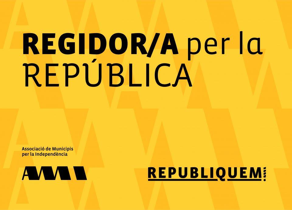 REGIDOR/A PER LA REPÚBLICA
